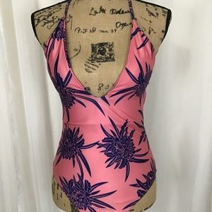Pink and Purple One Piece unbranded M